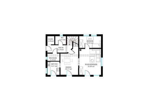 DAN-WOOD House Haus Salzburg Grundriss EG