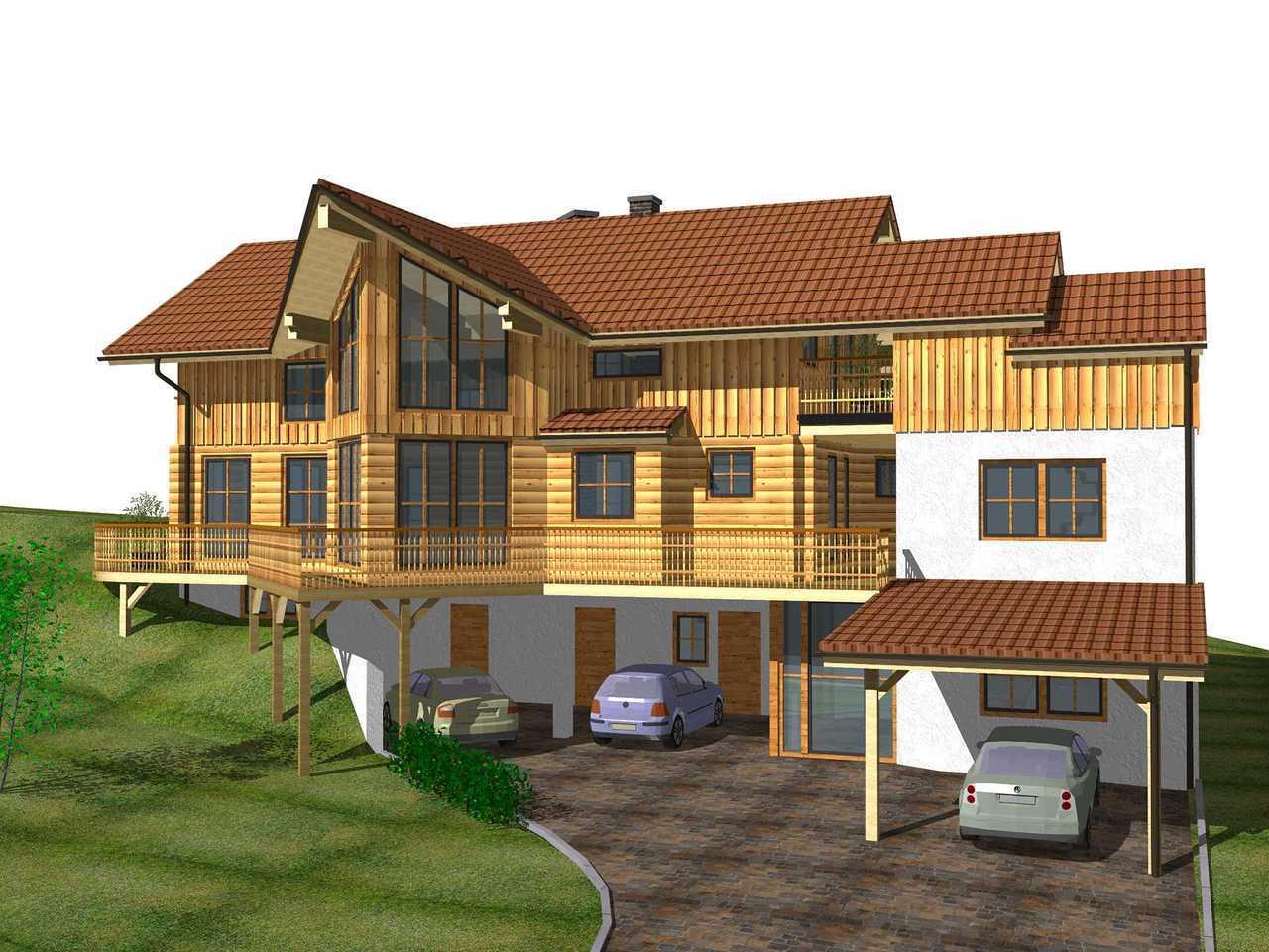 Zweifamilienhaus Ötscher - Finnland Block