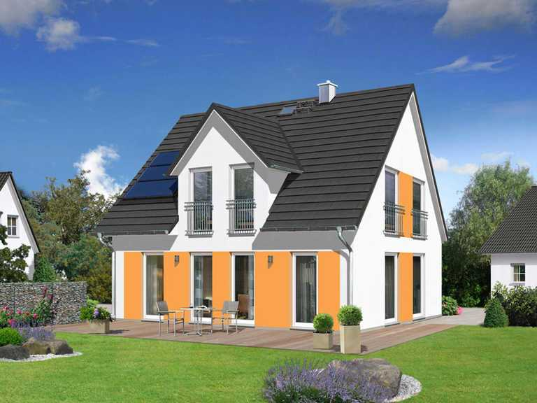 Haus Flair 125 mit Zwerchdach 1