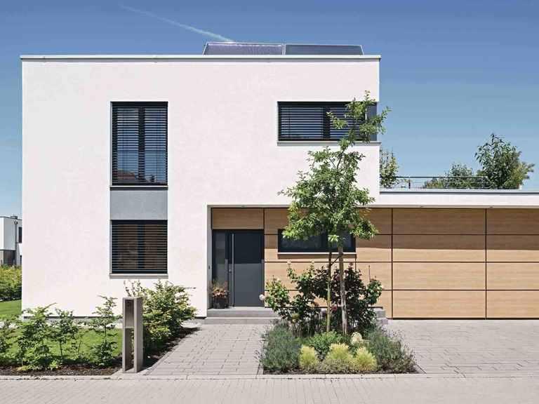 Kundenhaus Blum - WeberHaus Vorderansicht