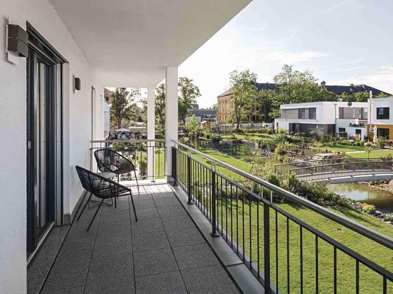Kundenhaus Blum - WeberHaus Balkon