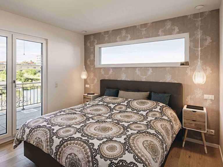 Kundenhaus Blum - WeberHaus Schlafzimmer