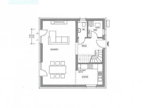 Einfamilienhaus Country C2 Grundriss EG