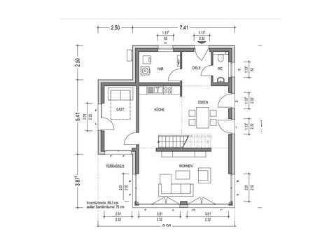Bauhaus C.A.V.13 Grundriss EG