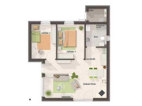 Glückswelthaus 61 Grundriss