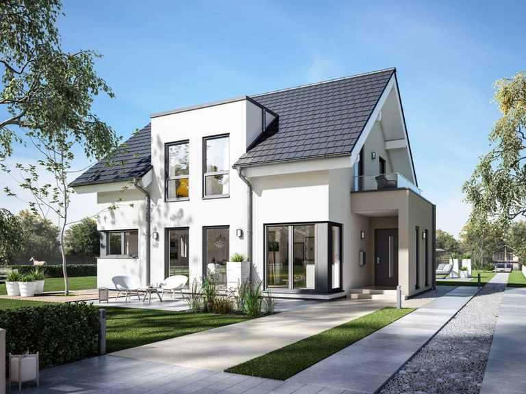 Einfamilienhaus Solitaire-E-145 E2 - Schwabenhaus