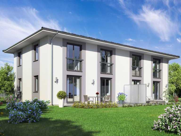 Doppelhaus Berlin von ROSTOW Bau