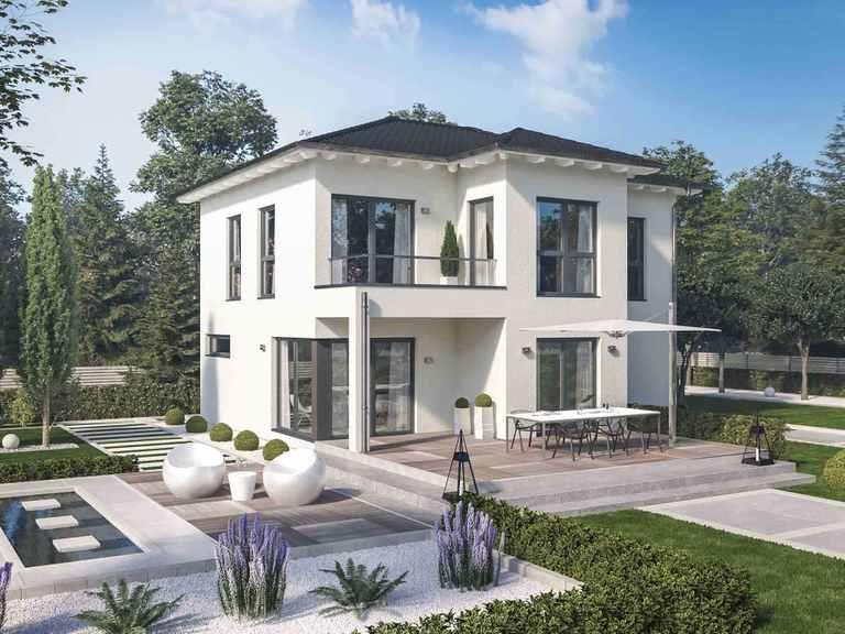 Stadtvilla Solitaire-E-125-E8 - Schwabenhaus