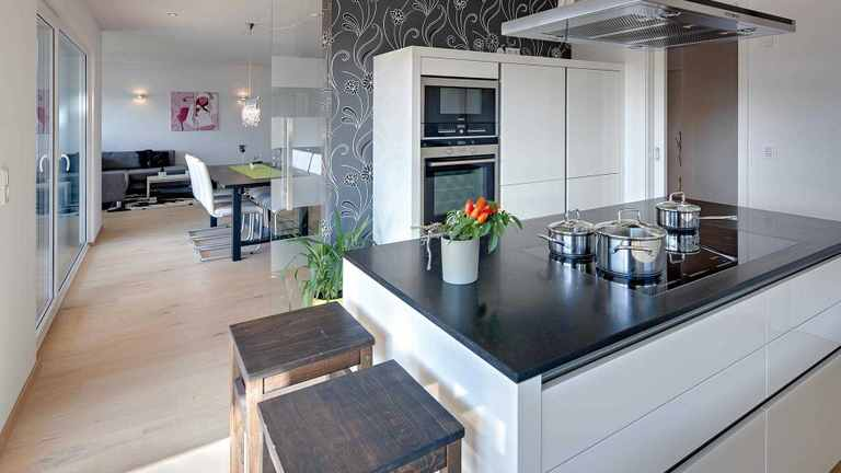 offene oder geschlossene k che eine entscheidungshilfe. Black Bedroom Furniture Sets. Home Design Ideas