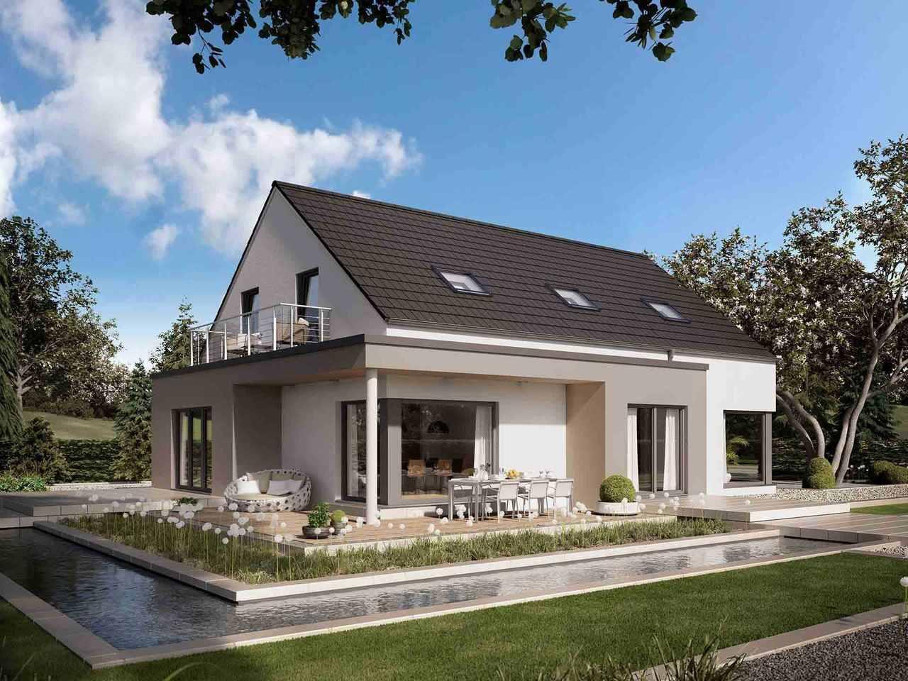 Einfamilienhaus Selection-E-169 E2 - Schwabenhaus