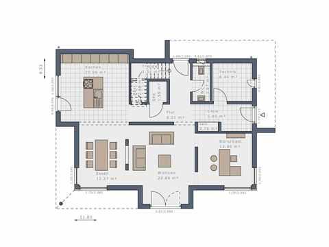 Einfamilienhaus Selection-E-169 E2 - Schwabenhaus Grundriss EG