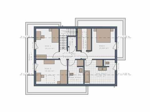 Einfamilienhaus Selection-E-169 E2 - Schwabenhaus Grundriss OG