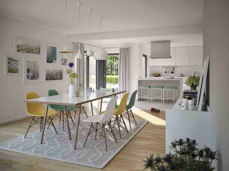 Einfamilienhaus Selection-E-169 E2 - Schwabenhaus Wohnbereich