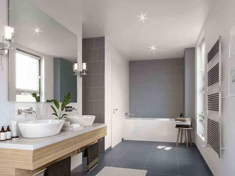 Einfamilienhaus Solitaire-E-125 E7 - Schwabenhaus Badezimmer