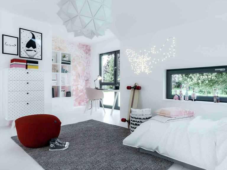 Einfamilienhaus Solitaire-E-145-E4 - Schwabenhaus Jugendzimmer