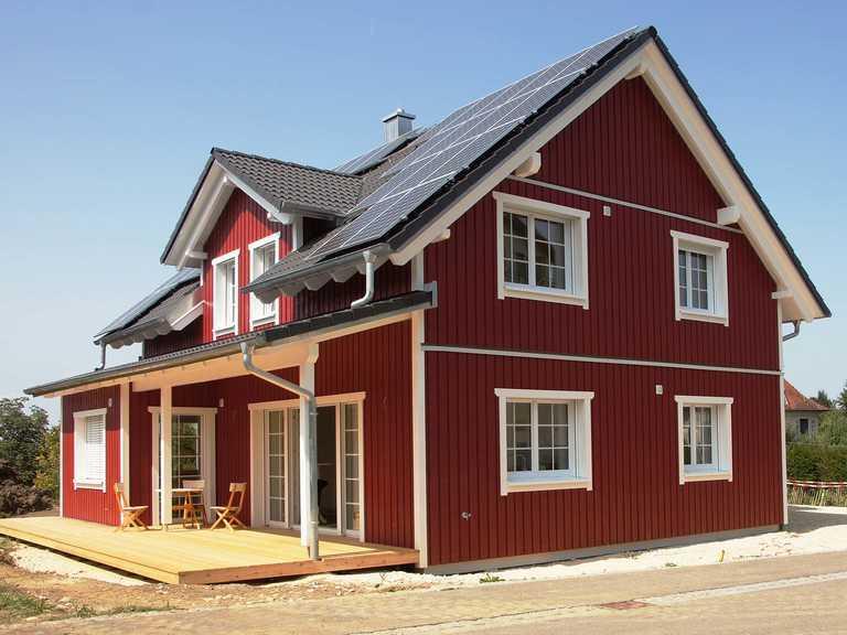 Schwedenhaus 160 - Holzbau Kielwein
