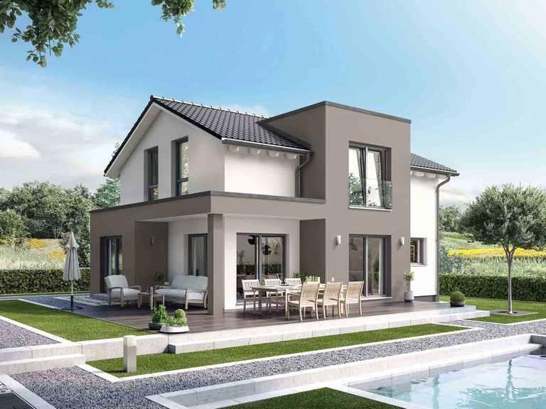 Einfamilienhaus Solitaire-E-125 E4 - Schwabenhaus