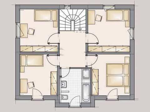 Residence 129 Grundriss DG