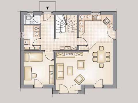 Residence 129 Grundriss EG