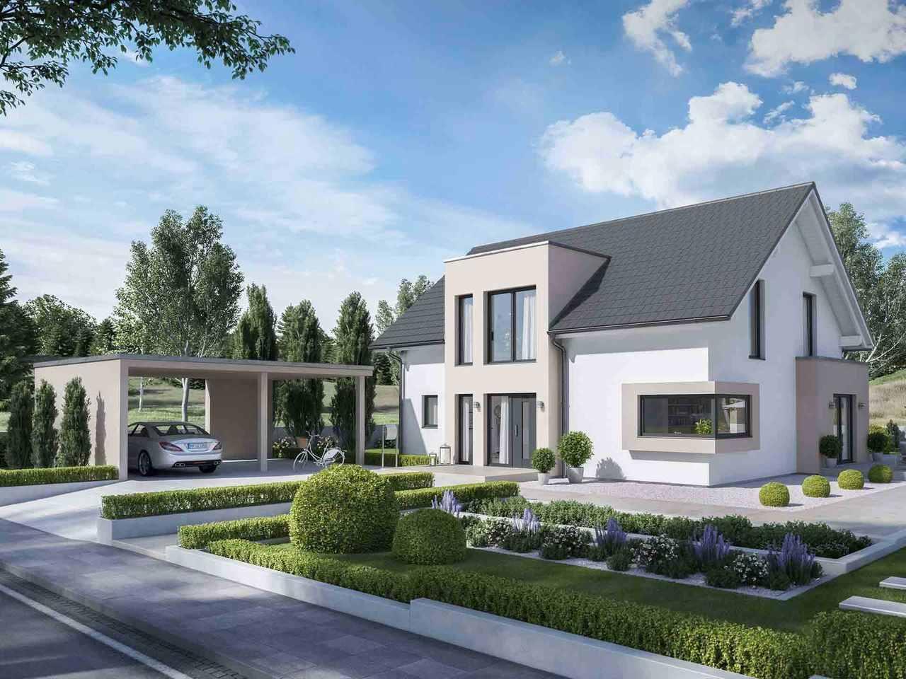 Einfamilienhaus Solitaire-E-165-E1 - Schwabenhaus