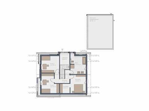 Einfamilienhaus Solitaire-E-165-E1 - Schwabenhaus Grundriss EG