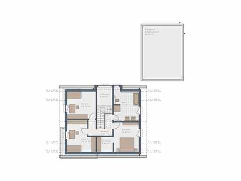 Einfamilienhaus Solitaire-E-165-E1 - Schwabenhaus Grundriss OG