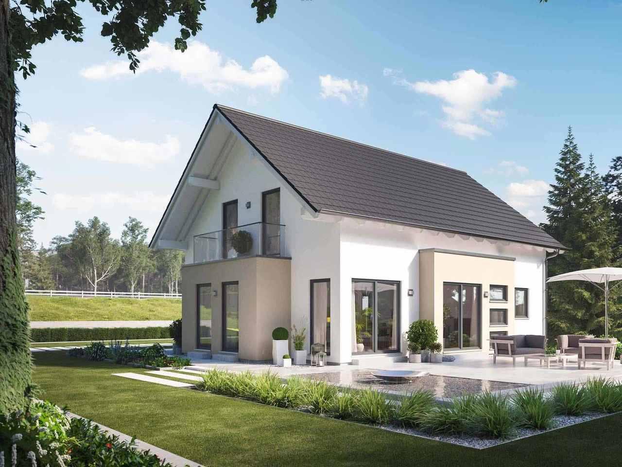 Einfamilienhaus Solitaire-E-165 E2 - Schwabenhaus