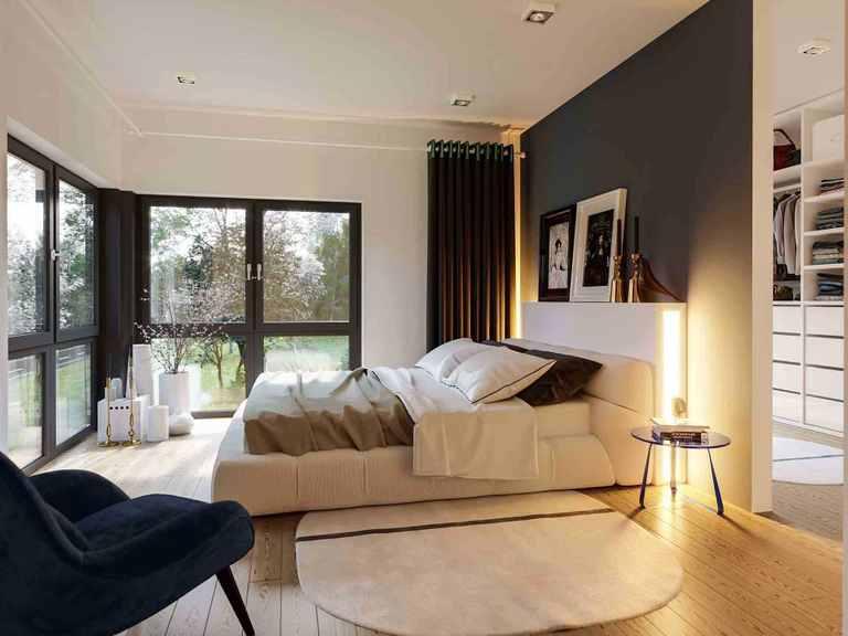 Einfamilienhaus Solitaire-E-165 E2 - Schwabenhaus Schlafzimmer