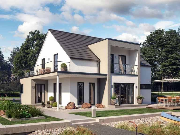 Einfamilienhaus Solitaire-E-165 E3 - Schwabenhaus