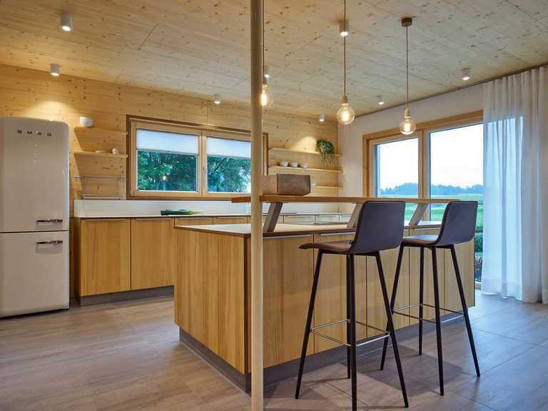 Referenzhaus Casa-Vita Küche