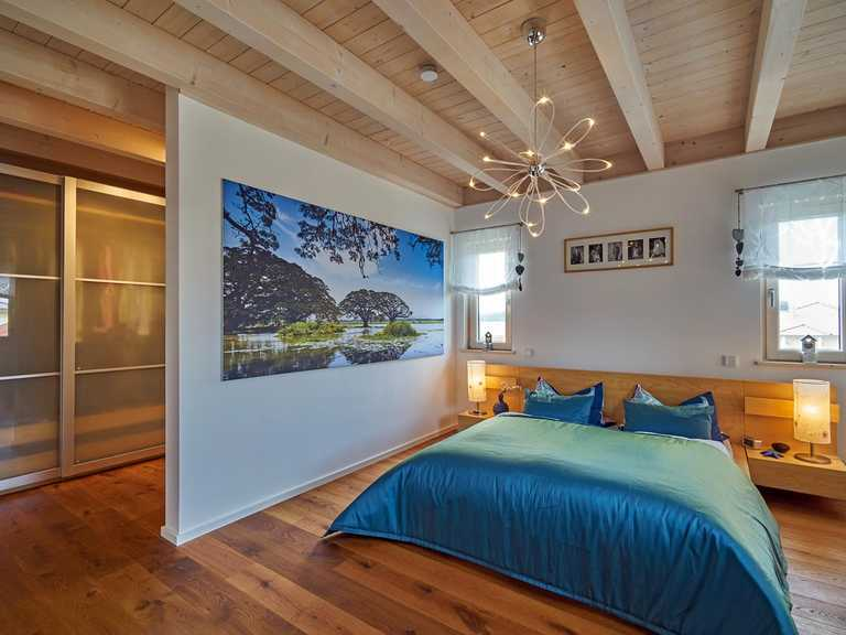 Kundenhaus Stefani Schlafzimmer