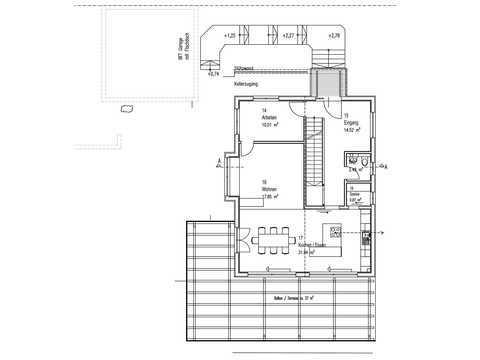 Kundenhaus Gwandtner Grundriss EG