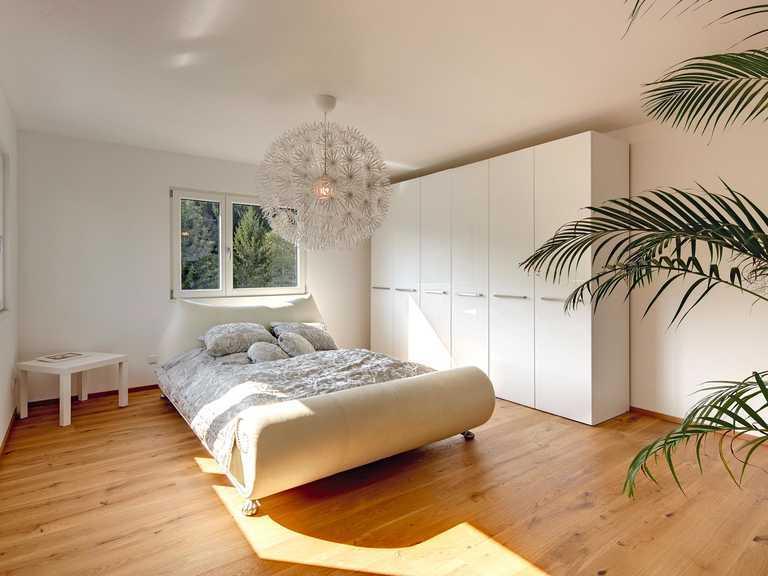 Kundenhaus Gwandtner Schlafzimmer