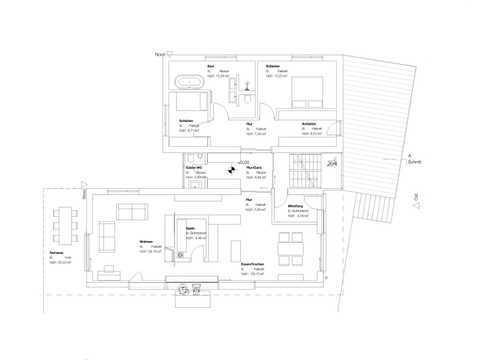 Kundenhaus Rodler Grundriss EG