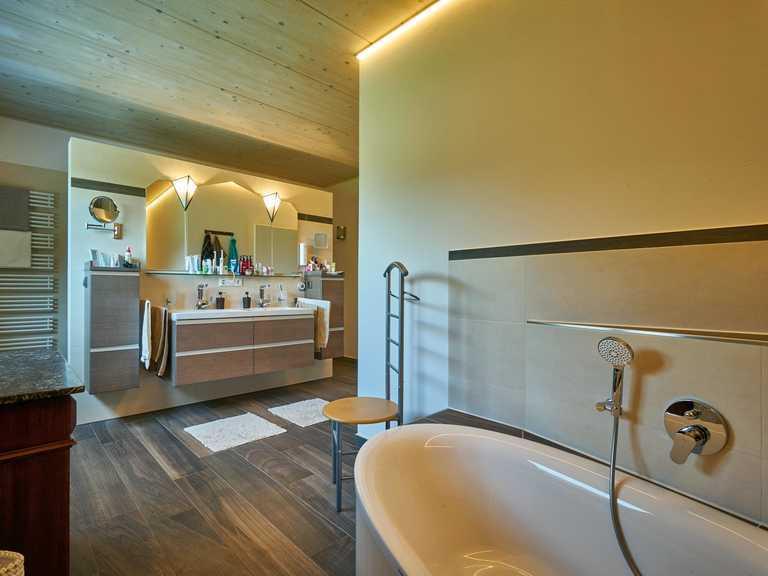 Kundenhaus Rodler Badezimmer