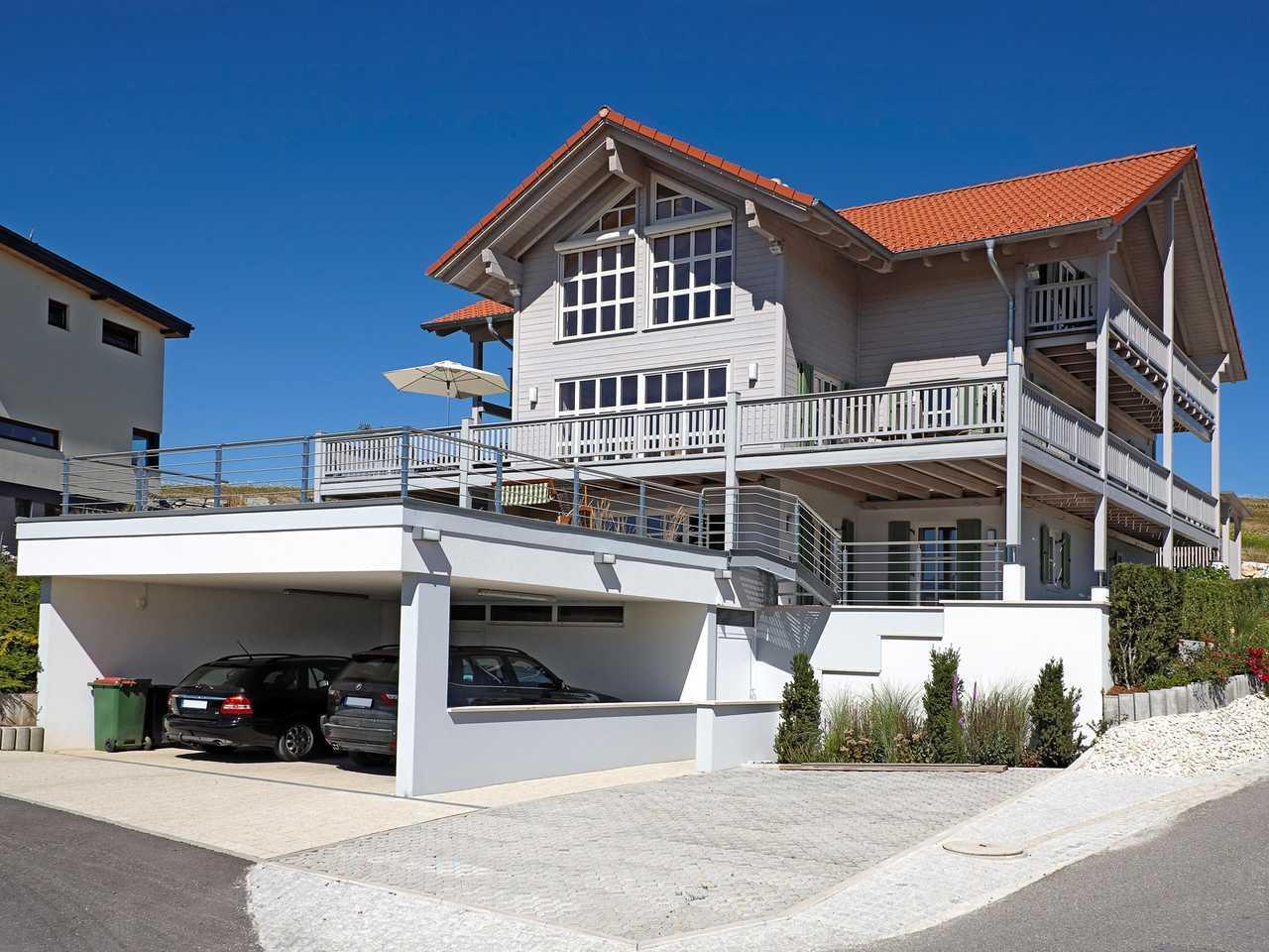 Kundenhaus Attergau Außenansicht 2