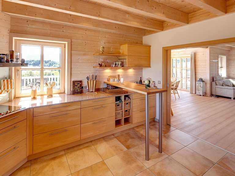 Kundenhaus Attergau Küche