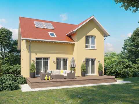 einfamilienhaus adora dialuxe massivhaus. Black Bedroom Furniture Sets. Home Design Ideas