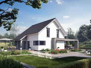 Einfamilienhaus Solitaire-E-145 E1 - Schwabenhaus