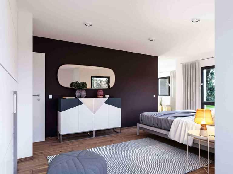 Einfamilienhaus Solitaire-E-145 E1 - Schwabenhaus Schlafzimmer