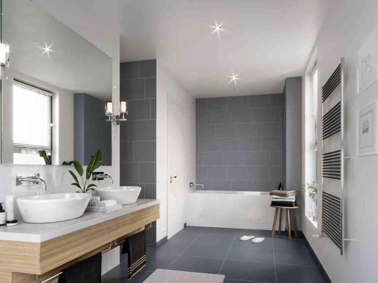 Einfamilienhaus Solitaire-E-125 E5 - Schwabenhaus Badezimmer