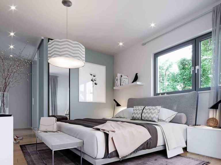 Einfamilienhaus Solitaire-E-125 E5 - Schwabenhaus Schlafzimmer