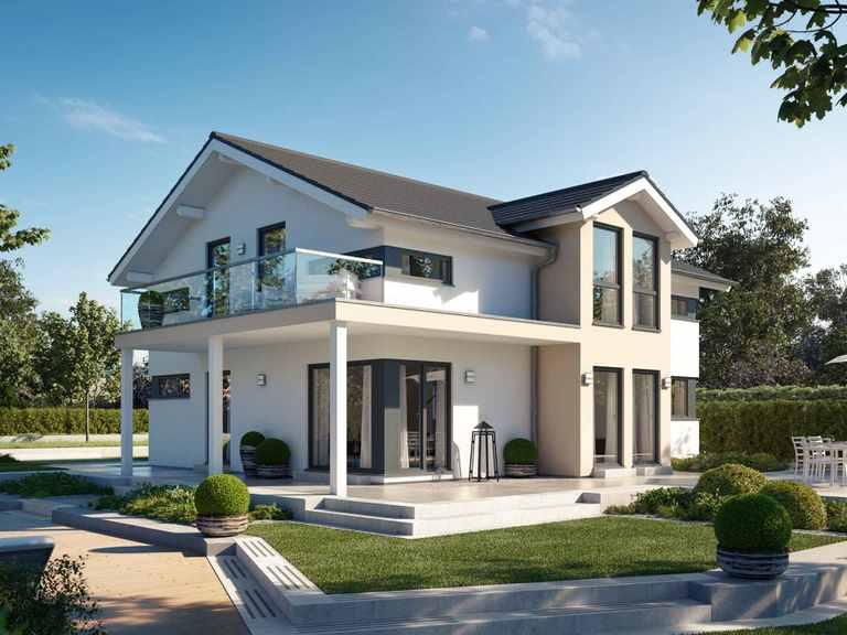 Einfamilienhaus Solitaire-E-165 E4 - Schwabenhaus