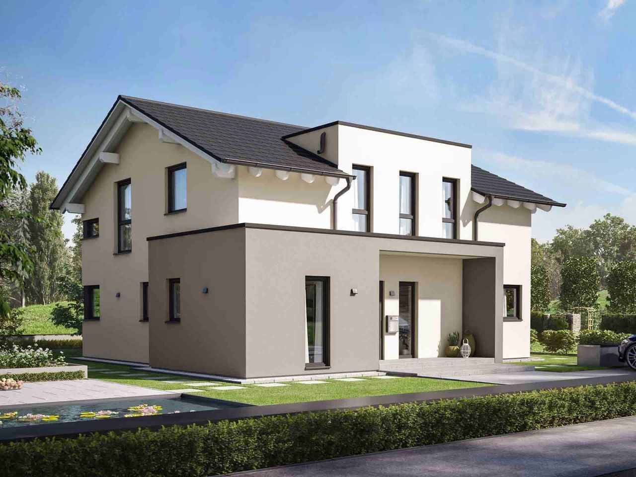 Einfamilienhaus Solitaire-E-165 E6 - Schwabenhaus