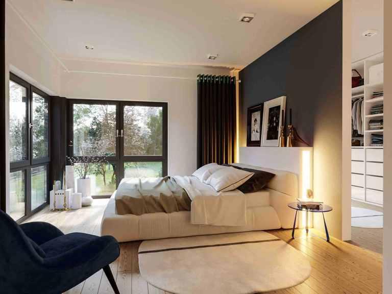 Einfamilienhaus Solitaire-E-165 E6 - Schwabenhaus Schlafzimmer