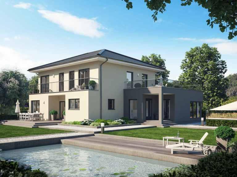 Einfamilienhaus Solitaire-E-165 E7 - Schwabenhaus