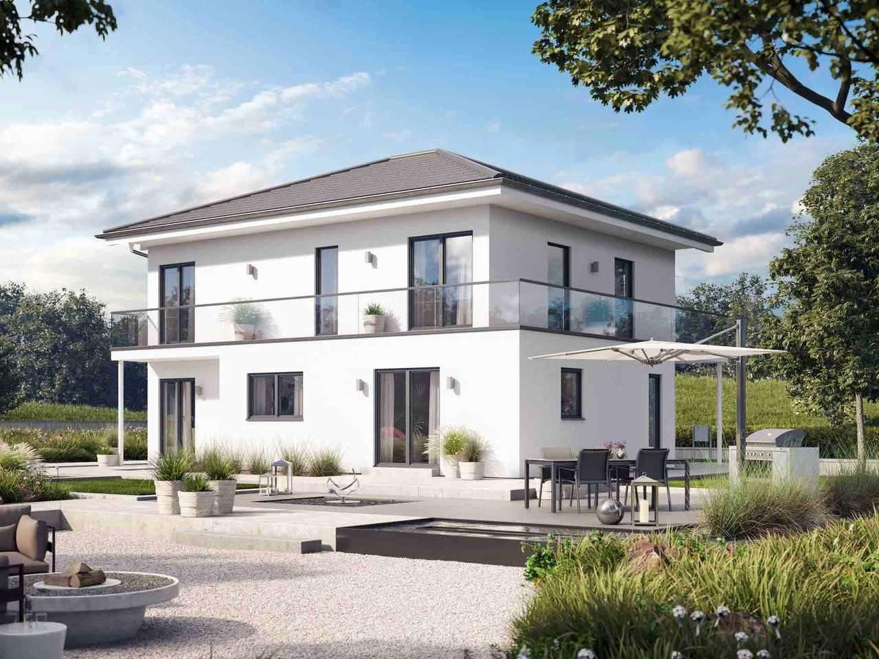 Einfamilienhaus Solitaire-E-165 E8 - Schwabenhaus