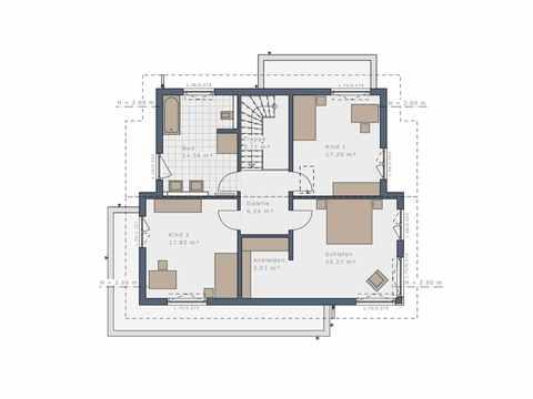 Einfamilienhaus Selection-E-175 E2 - Schwabenhaus Grundriss OG