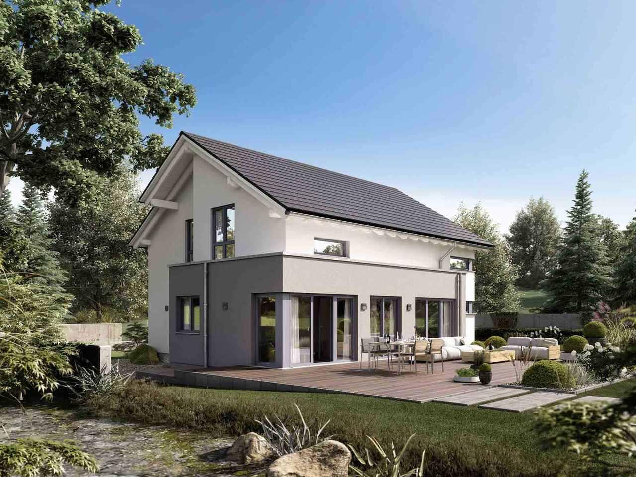 Einfamilienhaus Selection-E-175 E2 - Schwabenhaus