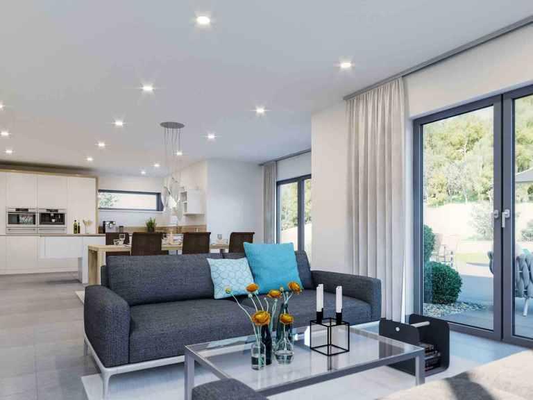 Einfamilienhaus Selection-E-175 E2 - Schwabenhaus Wohnbereich